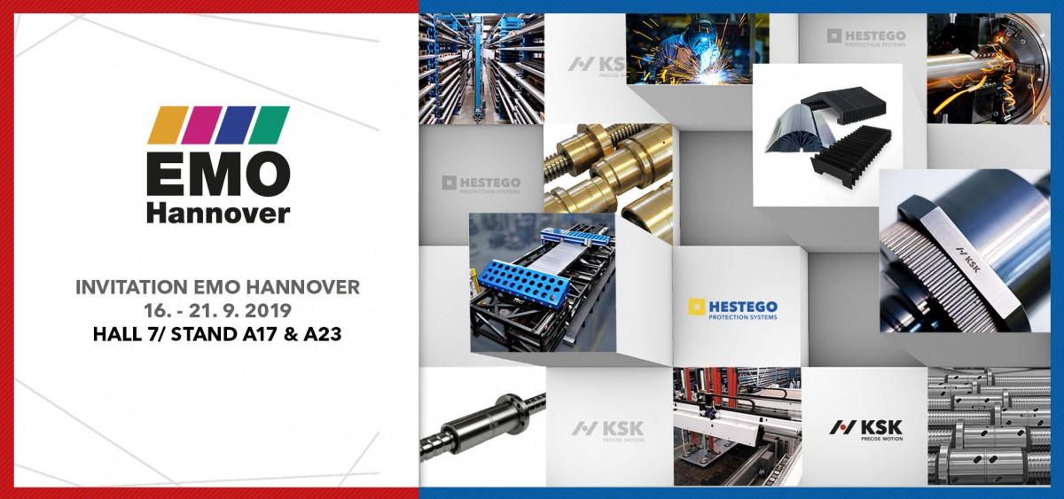 Invitation EMO Hannover 2019