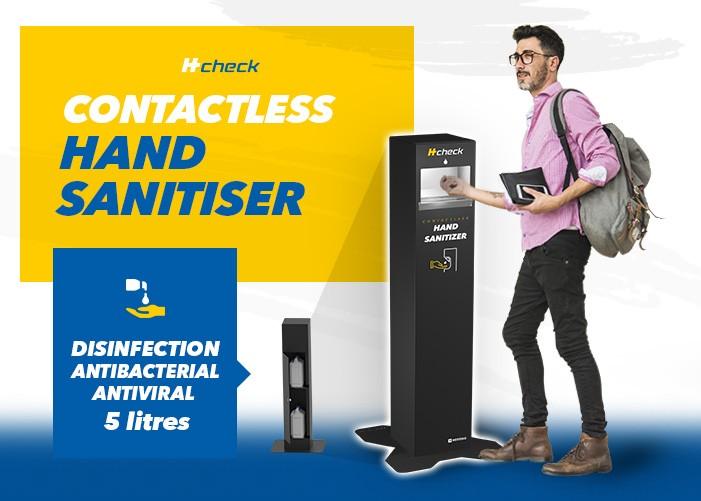 Contactless hand sanitiser